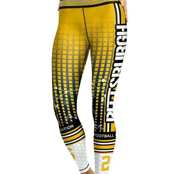 b2e9f942 Pittsburgh Steelers 26 New Women's Leggings Boutique